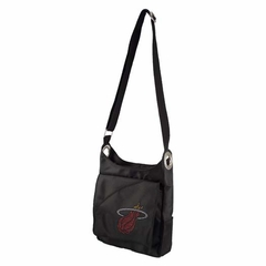 Miami Heat Sport Noir Sheen Crossbody Bag