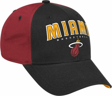 Miami Heat Structured Adjustable Hat