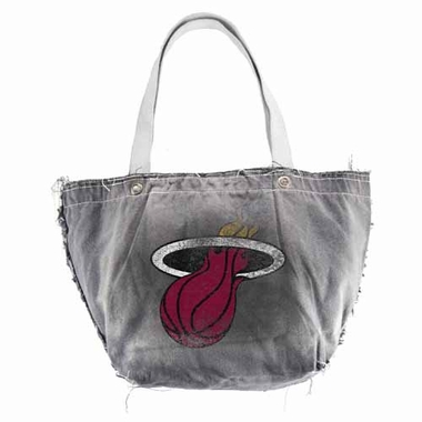 Miami Heat Vintage Tote (Black)