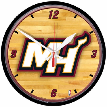 Miami Heat Wall Clock