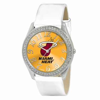 Miami Heat Women's Glitz Watch