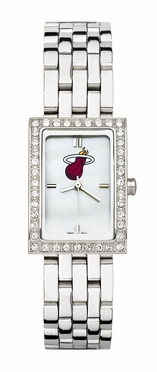 Miami Heat Women's Steel Band Allure Watch