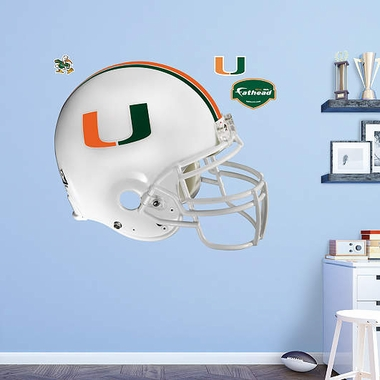 Miami Helmet Fathead Wall Graphic
