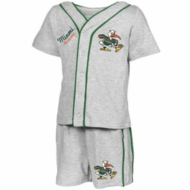 Miami Infant Batter Up Shirt & Shorts Set