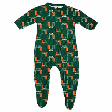 Miami Infant Footed Zip Raglan Coverall Sleeper