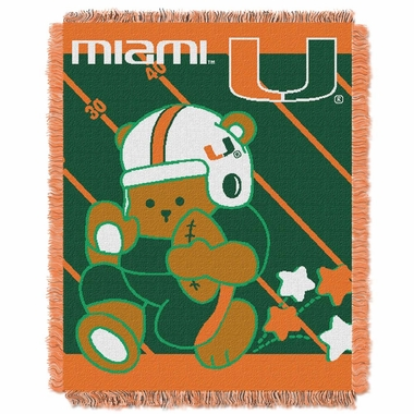 Miami Jacquard BABY Throw Blanket