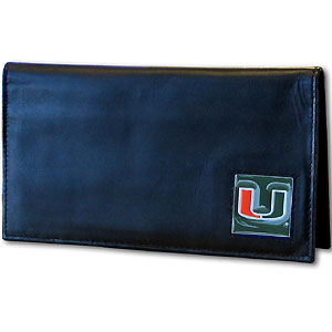 Miami Leather Checkbook Cover (F)