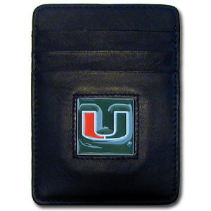 Miami Leather Money Clip