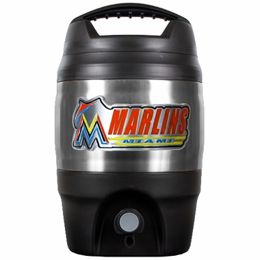 Miami Marlins 1 Gallon Tailgate Jug