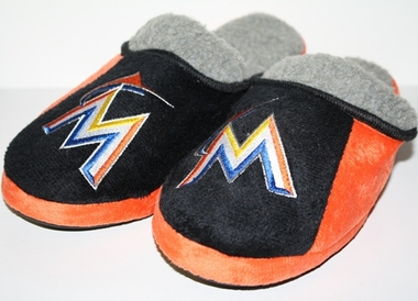 Miami Marlins 2012 Sherpa Slide Slippers
