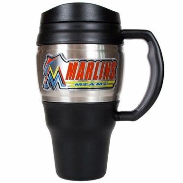 Miami Marlins 20oz Oversized Travel Mug