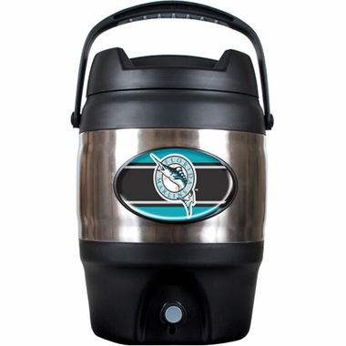 Florida Marlins 3 Gallon Stainless Steel Jug