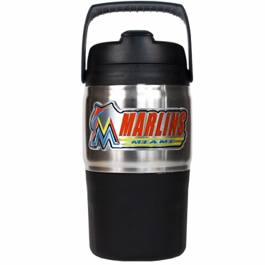 Miami Marlins 48oz Travel Jug