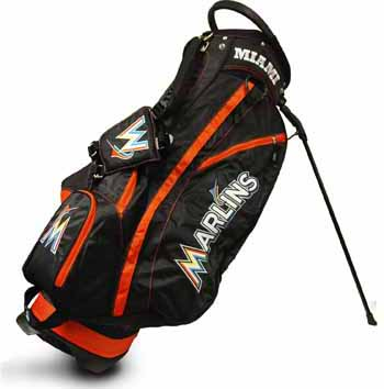 Miami Marlins Fairway Stand Bag