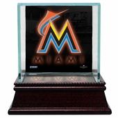 Miami Marlins Display Cases