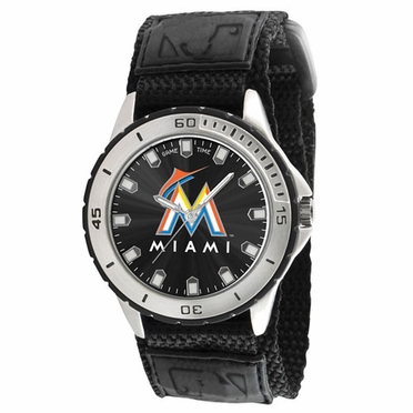 Miami Marlins Mens Veteran Watch