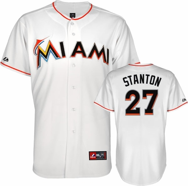 Miami Marlins Mike Stanton Replica Player Jersey