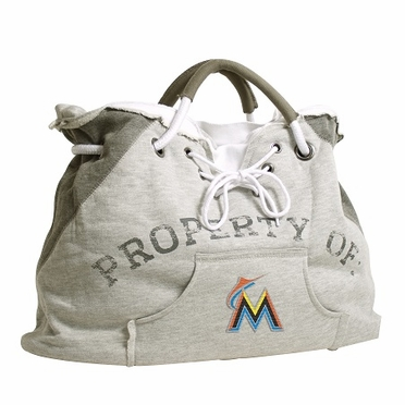 Miami Marlins Property of Hoody Tote