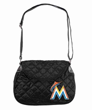 Miami Marlins Quilted Saddlebag