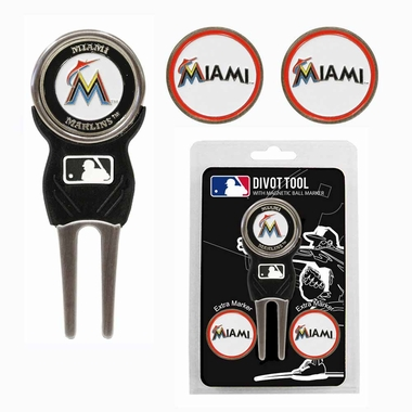 Miami Marlins Repair Tool and Ball Marker Gift Set