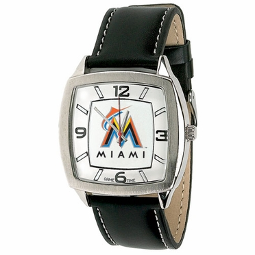 Miami Marlins Retro Mens Watch