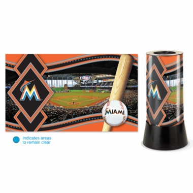 Miami Marlins Rotating Lamp