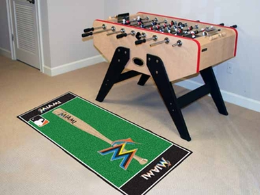 Miami Marlins Runner Rug