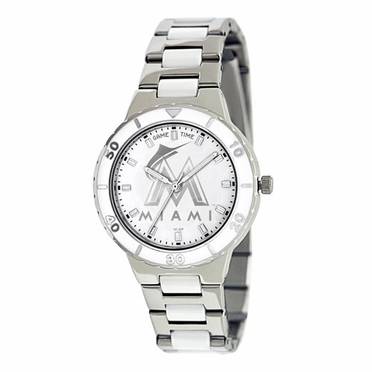 Miami Marlins Women's Pearl Watch