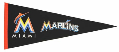 Miami Marlins Wool Pennant