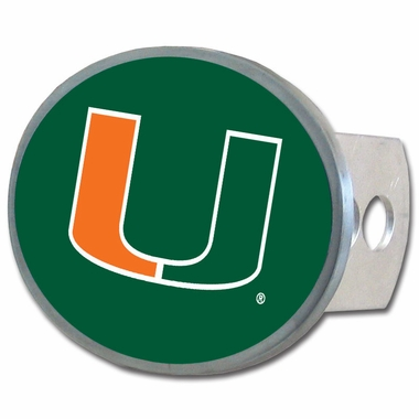 Miami Oval Metal Hitch Cover