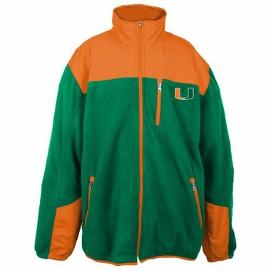 Miami Poly Dobby Full Zip Polar Fleece Jacket