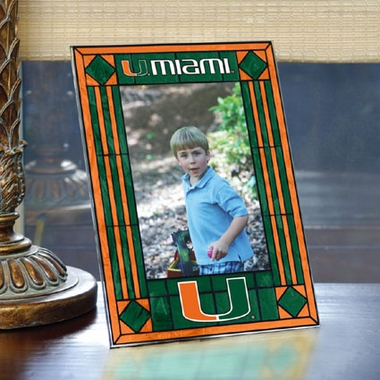 Miami Portrait Art Glass Picture Frame