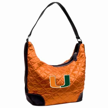 Miami Quilted Hobo Purse