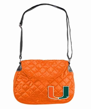 Miami Quilted Saddlebag