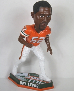 Miami Ray Lewis Thematic Base Bobblehead