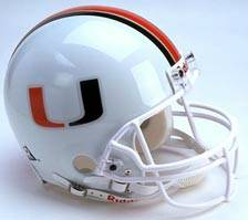 Miami Riddell Full Size Authentic Helmet