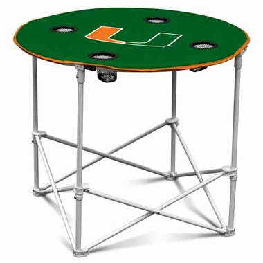Miami Round Tailgate Table
