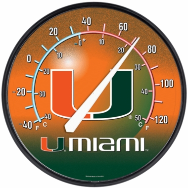 Miami Round Wall Thermometer