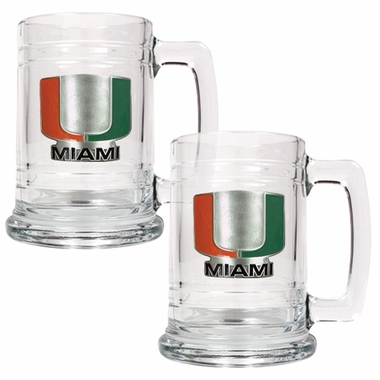 Miami Set of 2 15 oz. Tankards