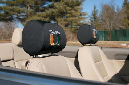 Miami Set of 2 Headrest Covers (F)