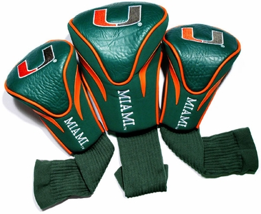 Miami Set of Three Contour Headcovers