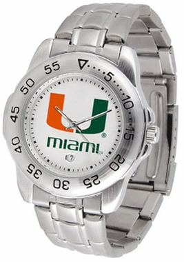 Miami Sport Men's Steel Band Watch
