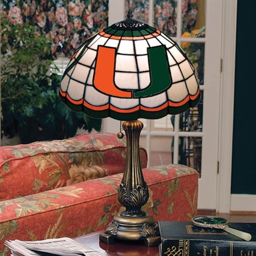 Miami Stained Glass Table Lamp