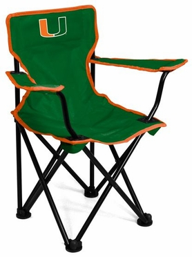 Miami Toddler Folding Logo Chair