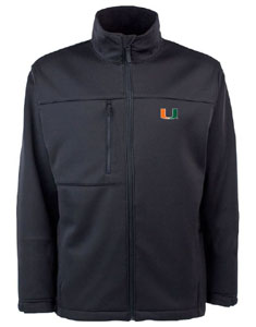 Miami Mens Traverse Jacket (Team Color: Black) - Medium