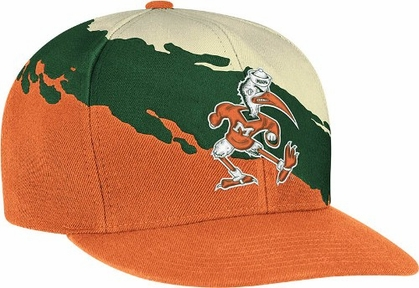Miami Vintage Paintbrush Snap Back Hat