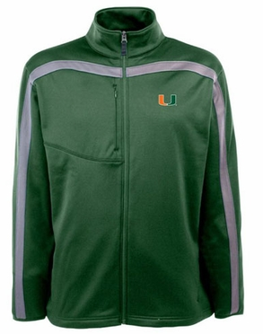 Miami Mens Viper Full Zip Performance Jacket (Team Color: Green)