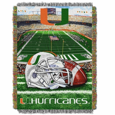 Miami Woven Tapestry Blanket