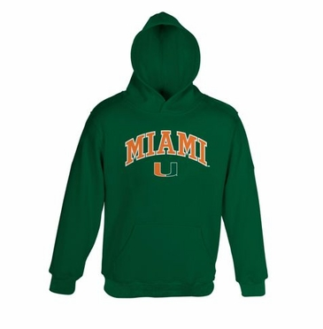 Miami YOUTH Hooded Sweatshirt
