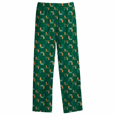 Miami YOUTH Logo Pajama Pants